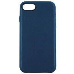 Coque Cuir IPHONE 7+ 8+ Bleu
