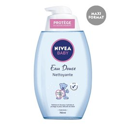 NIVEA BABY EAU NETTOYANTE POMPE 750 ML