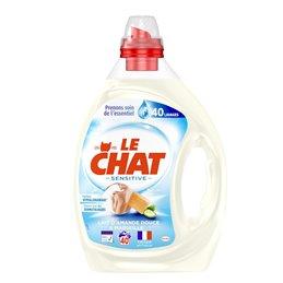 LE CHAT LESSIVE LIQUIDE SENSITIVE 2L 40 LAVAGES