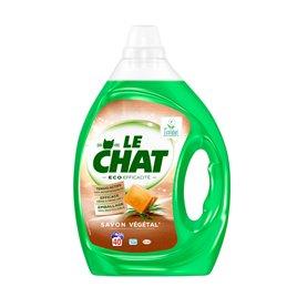 LE CHAT LESSIVE LIQUIDE ECO EFFICACITE 2L 40 LAVAGES