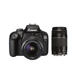 CANON EOS-4000D + 2 Objectifs EF-S 18-55mm & EF 75-300mm