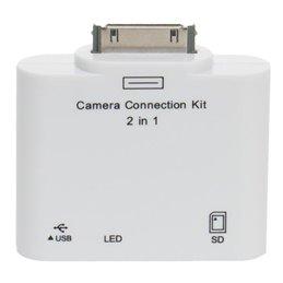 BLUESTORK LECTEUR Cartes SD + Port USB pour iPad/iPhone ?