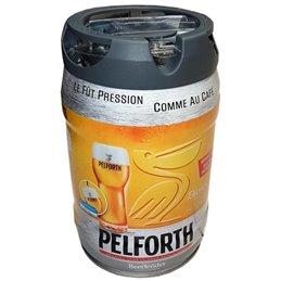 PELFORTH blonde 5.8° fût de 5 L pressurisé compatible beertender