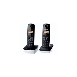 TEL Panasonic KXTG1612 NOIR  DECT DUO