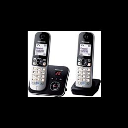 TEL KX TG 6822Dect duo repondeur compatible Box