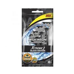 WILKINSON RASOIR JETABLE XTREME 3 BLACK X 6