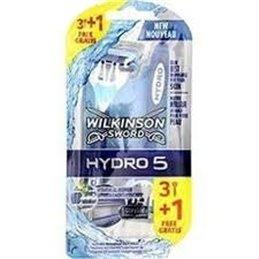 WILKINSON RASOIR JETABLE HYDRO 5 X 3 + 1 GRATUIT