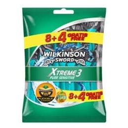 WILKINSON RASOIR JETABLE XTREME 3 SENSITIVE X 8 + 4 GRATUITS