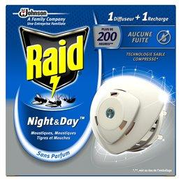 RAID DIFFUSEUR ELECTRIQUE NIGHT&DAY