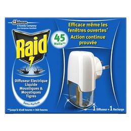 RAID DIFFUSEUR ELECTRIQUE LIQUIDE 45 NUITS
