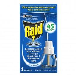 RAID RECHARGE ELECTRIQUE LIQUIDE 45 NUITS