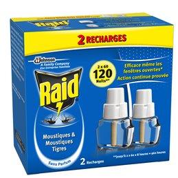 RAID RECHARGE ELECTRIQUE LIQUIDE 2 X 60 NUITS