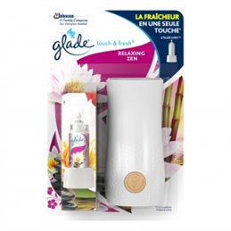 GLADE BY BRISE TOUCH & FRESH DIFFUSEUR RELAXING ZEN DIFF + 1 RECH 10 ML