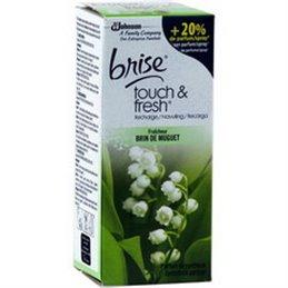 GLADE BY BRISE TOUCH & FRESH RECHARGE BRIN DE MUGUET 10 ML