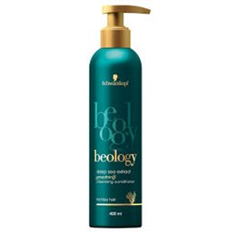"""SCWHARZKOPF BEOLOGY """"LOW SHAMPOO"""" CLEANSING CONDITIONER SMOOTHING POMPE 400 ML"""