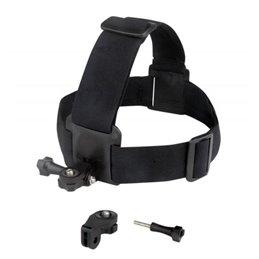 SPORT - fixation bandeau caméra sport - noir
