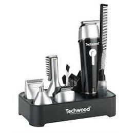 TECHWOOD Kit Tondeuse Ss Fil N tondeuse sans fil noir accessoires