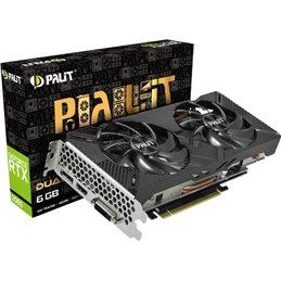 Carte graphique PALIT RTX2060 DUAL 6GB GDDR6 NE62060018J9-1160A-1