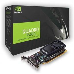 PNY nVidia Quadro P400 V2 2Go DVI 3xmDPDVI LP retail